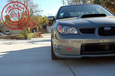 Karlton's 17x9.5 +38mm RP03 Equipped STi