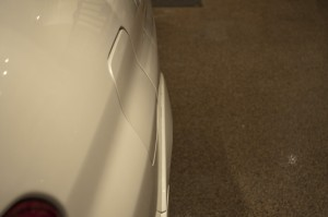 After The Fender Pull, Stock 2007 Subaru Impreza WRX STi Fender Pulled