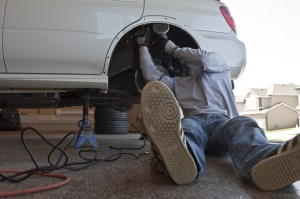 Angle Grinding, Safety First STi Fender Flare Modes