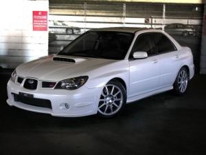 Stock Subaru Impreza WRX STI Limited