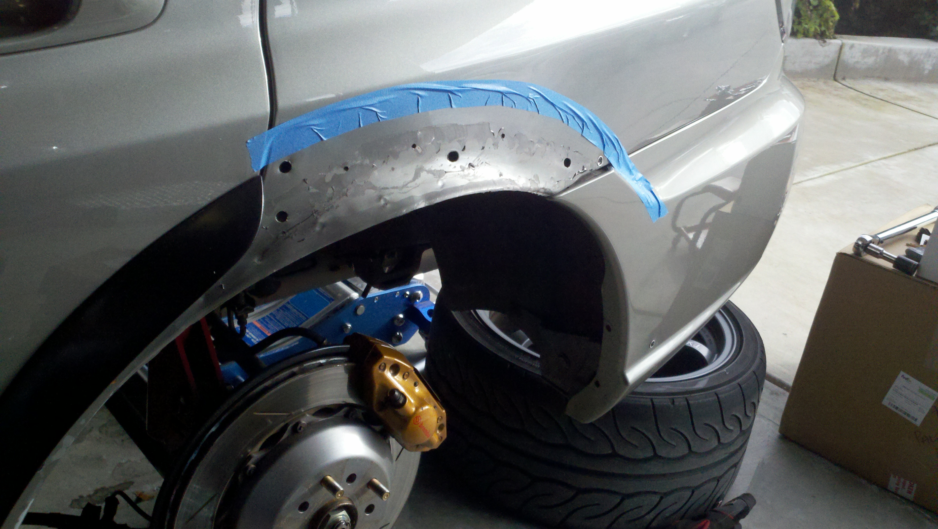 How To Pocket Style Fender Flares Sti T3h Clap S