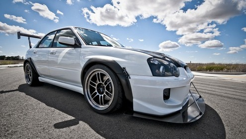 Adam's Aspen White Time Attack 2004.7 STi