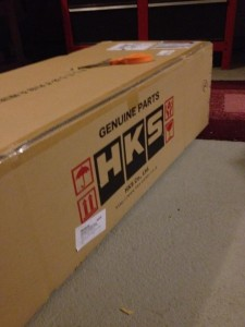 HKS Header in the box