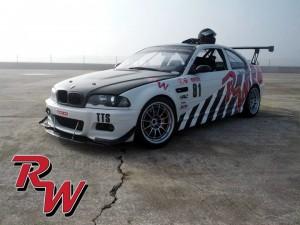 BMW M3 Racecar RevWorks