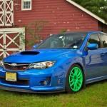 Ivans 2011 Subaru Impreza WRX STi Enkei GTC01 GREEN!!!