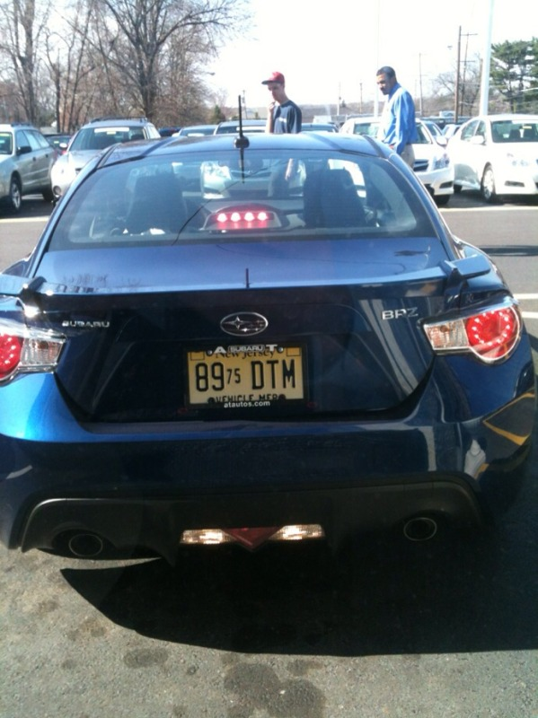 BRZ photos!! Co-Worker snags first hand pics of BRZ.